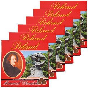 ポーランド お土産 チョコレート スイーツ ナッツチョコ お取り寄せ ギフト ポーランド お土産 ポーランド メモリアルチョコレート 6箱セット ID:E7050411|trv