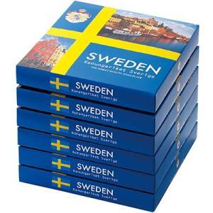 【ポイント10倍】スウェーデン お土産 スウェーデンフレークトリュフチョコレート6箱セット ID:E7051888