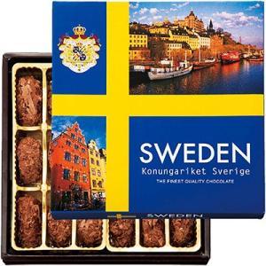 【ポイント10倍】スウェーデン お土産 スウェーデンフレークトリュフチョコレート1箱 ID:E7051889