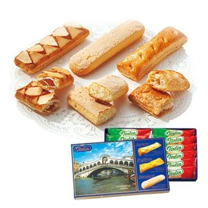 イタリア お土産 ギフト プレゼント ペイストリーパフ&クッキー 1箱 食品 菓子 スイーツ クッキー ビスケット ID:80650013