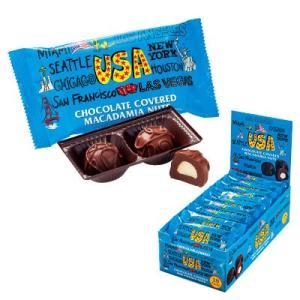 アメリカ お土産 アメリカ マカデミアナッツチョコレート ミニ 18袋セット ID:E7050570 trv