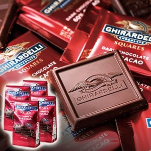 ポイント10倍!アメリカ お土産 チョコレート スイーツ アメリカ お土産 ギラデリ 60%カカオチョコレート 4個セット ID:E7050593