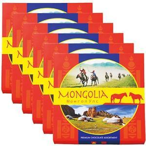 モンゴル お土産 ギフト プレゼント モンゴルチョコレート 6箱セット 食品 菓子 スイーツ チョコレート ID:86150143