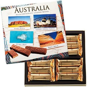 オーストラリア お土産 オールオーストラリア チョコウエハース 6箱セット(オーストラリアお土産お土産チョコレート) ID:E7051056