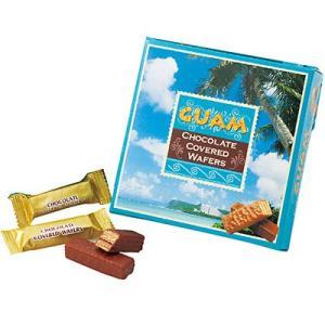 ポイント10倍 グアム お土産 チョコレート スイーツ chocolate お取り寄せ グアム お土産 グアム チョコウエハース 1箱 ID:E7051770