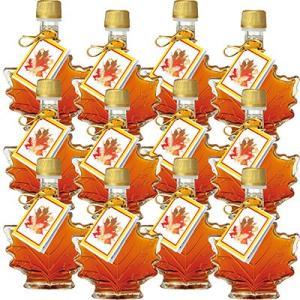 カナダ お土産 ギフト プレゼント カエデ形 ミニメープルシロップ 12瓶 食品 ジャム 蜂蜜 シロップ類 シロップ ID:80653945