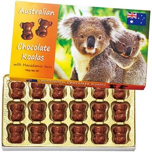 オーストラリア お土産 コアラ マカデミアチップチョコレート 1箱 ID:E7051033|trv