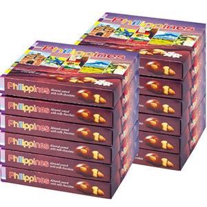 6%OFFクーポン フィリピン お土産 フィリピン土産 ギフト アーモンドミルクチョコレート 12箱セット 食品 菓子 スイーツ チョコレート ナッツ ID:80654526|trv