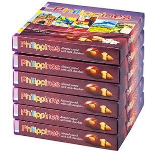 6%OFFクーポン フィリピン お土産 フィリピン土産 ギフト アーモンドミルクチョコレート 6箱セット 食品 菓子 スイーツ チョコレート ナッツ ID:80654527|trv