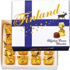 フィンランド お土産 フィンランド ヘーゼルナッツクリームチョコレート 1箱 ID:E7051885|trv
