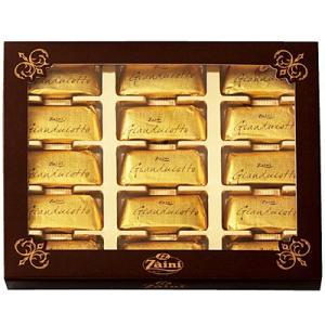 イタリア お土産 ギフト プレゼント ザイーニ ジャンドゥーヤ ミルクチョコ(袋付) 1箱 食品 菓子 スイーツ チョコレート チョコ ID:80653324