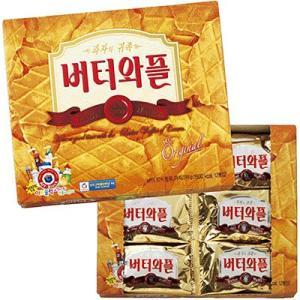 韓国 お土産 ギフト プレゼント バターワッフルクッキー 食品 菓子 スイーツ クッキー ビスケット ID:86160021