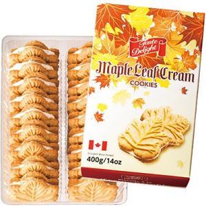 カナダ お土産 ギフト プレゼント メープルクリームクッキー 1箱 食品 菓子 スイーツ クッキー ビスケット ID:80650338