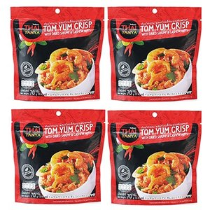 タイ お土産 土産 みやげ おみやげ / タイ トムヤムクリスプ 4袋セット  トムヤムスープ味に仕...