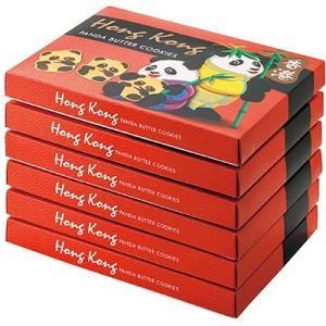 10%OFFクーポン 香港 お土産 香港土産 ギフト 香港 パンダクッキー 6箱セット 食品 菓子 ...