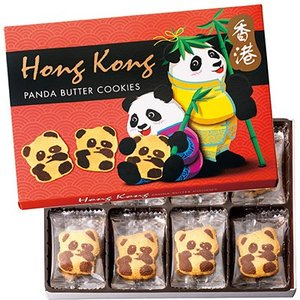 10%OFFクーポン 香港 お土産 香港土産 ギフト 香港 パンダクッキー 1箱 食品 菓子 スイー...