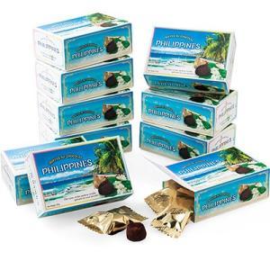 6%OFFクーポン フィリピン お土産 フィリピン土産 ギフト ミニチョコトリュフ 10箱セット 食品 菓子 スイーツ チョコレート チョコ ID:80654530|trv