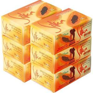 6%OFFクーポン フィリピン お土産 フィリピン土産 ギフト シルカ パパイヤ石けん 6コセット 家庭用品 浴用用品 石鹸 ID:80654535|trv