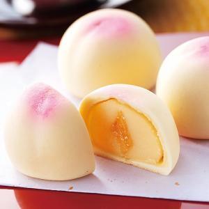 福島土産 福島の桃 和菓子 饅頭 ID:81910059