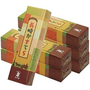 長崎 土産 お土産 みやげ おみやげ / 文旦堂 カステラ はちみつ 6本  素材と職人技が生む、長...