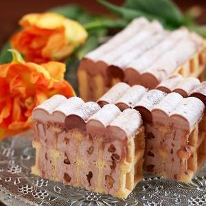 トップス×ワッフルワッフル ワッフルチョコレートケーキ ID...