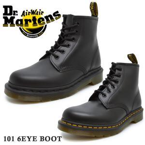 ドクターマーチン 正規品 Dr.Martens 6ホール 10064001 CORE 101 6EYE BOOT コア 101 6アイ ブーツ メンズ レディース|try-group