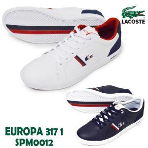 LACOSTE ラコステ/ /SPM-0012 042/092 /EUROPA 317 1/エウロパ 317 1 /メンズ スニーカー レースアップシューズ 運動靴 紐靴 ローカット カジュアル シンプ