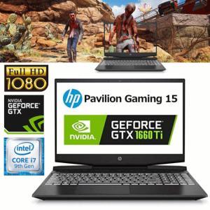 FPSも快適動作 ゲーミングノート GTX1660Ti搭載 M.2 SSD 256GB+1TB HDD Pavilion Gaming 15 7LG73PA-AACJ 15.6型 Core i7 16GB 搭載 WEBカメラ|try3