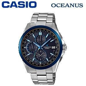 腕時計 カシオ オシアナス チタンバンド 10気圧防水 タフムーブメント スマートアクセス タフソーラー 電波時計 OCW-T2600G-1AJF Black Marble メンズタイプ|try3