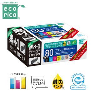 エコリカ インクカートリッジ ECI-E806PS+BK インク リサイクルインク 6色パック+ ICBK80互換|try3