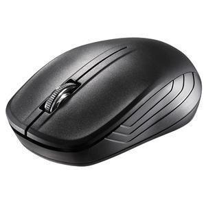 BUFFALO バッファロー BSMRW21BK 3ボタン ワイヤレス2.4GHz接続 IR LEDマウス ブラック マウス|try3