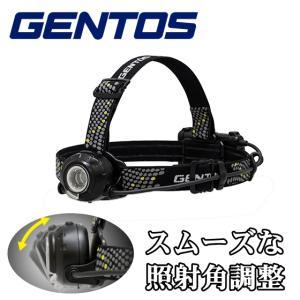 GENTOS ジェントス LEDヘッドライト ヘッドウォーズ HLP-1805 明るさ最大500ルーメン 点灯最長20時間 ヘッドバンド付属 ヘルメットホルダー付属 HLP1805