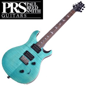国内正規品 Paul Reed Smith PRS SE Custom 24 Sapphire Limited Bird Inlay Beveled Maple Top エレキギター ポール・リード・スミス|try3