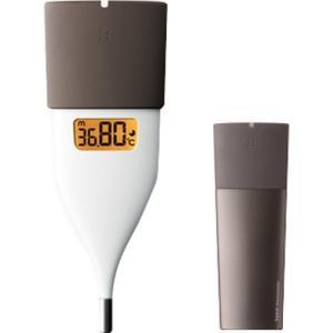オムロン MC-652LC-BW ブラウン 体温計 早い 正確 約10秒予測検温 婦人体温計 基礎体...