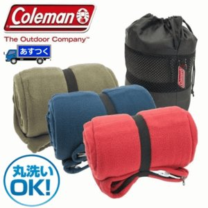 在庫あり 寝袋 シュラフ Coleman 寝袋 フリース スリーピングバック SLEEPING BAG コールマン 寝袋 レクタングラー型 コールマン 封筒型 フリースネブクロ try3