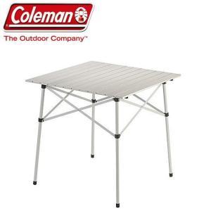Coleman コールマン 折りたたみ アウトドアコンパクトテーブル 70cm 4人用 BBQ スチールフレーム アルミ天板 バルコニー 来客用 キャリーバック|try3