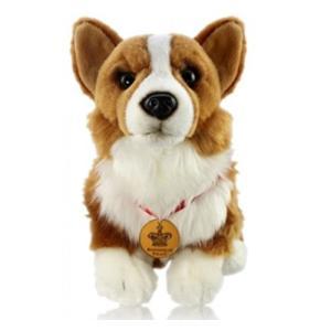 英国Royal Collection(ロイヤルコレクション) エリザベス女王の愛犬コーギーのぬいぐる...