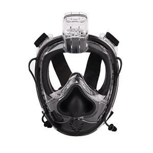 【人間工学的なデザイン】鼻の部分は柔らかいシリコンゴムを設計、深海でダイビングする場合は、鼻を押して...