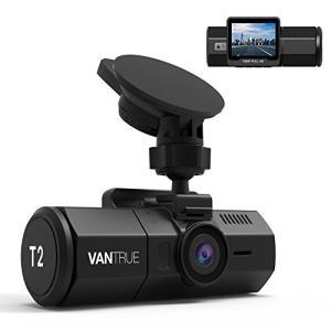 24時間監視 ドライブレコーダー VANTRUE T2 【マイクロ波 24時間駐車監視】スーパーコン...