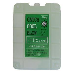 アイスクリームや冷凍品の保冷に 保冷材(剤)キャッチクールブローMサイズ  -11℃ 長時間  アウトドア キャンプ 冷やす trycompany