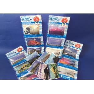 世界遺産の富士山の絵や写真を保冷材に キャッチクール富士山 50g(3個セット) trycompany