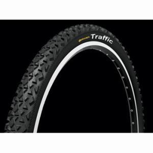 コンチネンタル(Continental) タイヤ traffic 26x1.9 black(1本)|trycycle
