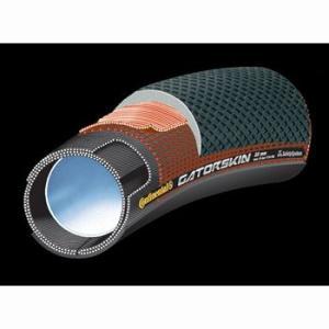 ポイント6倍 コンチネンタル(Continental) チューブラータイヤ sprintergatorskin 28x22mmblk-duraskin(1本)|trycycle