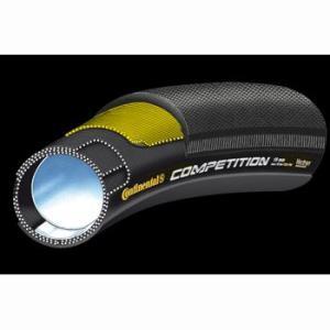 ポイント6倍 送料無料 コンチネンタル(Continental) チューブラータイヤ competition 28x22mm black-black(1本)|trycycle