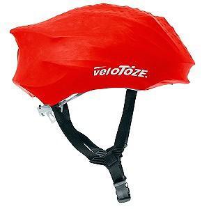 送料無料 VELOTOZE(ヴェロトーゼ/ベロトーゼ) ヘルメットカバー レッド|trycycle