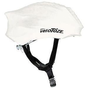 送料無料 VELOTOZE(ヴェロトーゼ/ベロトーゼ) ヘルメットカバー ホワイト|trycycle
