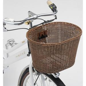 送料無料 ヤマハ(YAMAHA) リンエイ製 籐風丸型バスケット Q1H-RIN-Y04-002|trycycle