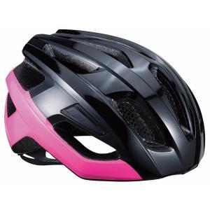 BBB ヘルメット カイト L グロッシーブラック/ネオンピンク BHE-29|trycycle