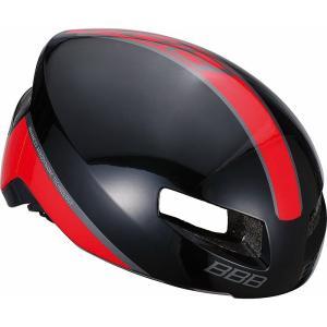 送料無料 BBB ヘルメット ティトノス L グロッシーブラック/レッド BHE-08|trycycle