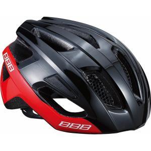 BBB ヘルメット カイト L グロッシーブラック/レッド BHE-29|trycycle